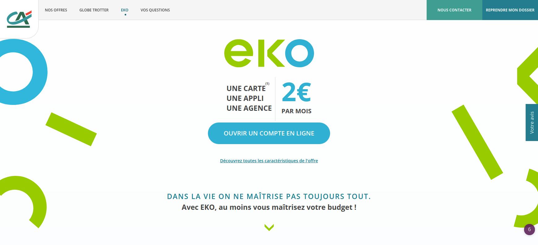 site eko by ca du credit agricole